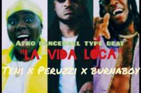 DOWNLOAD : Free Beat: La Vida Loca || Teni x Peruzzi x Burna Boy (Prod. Jazzman)