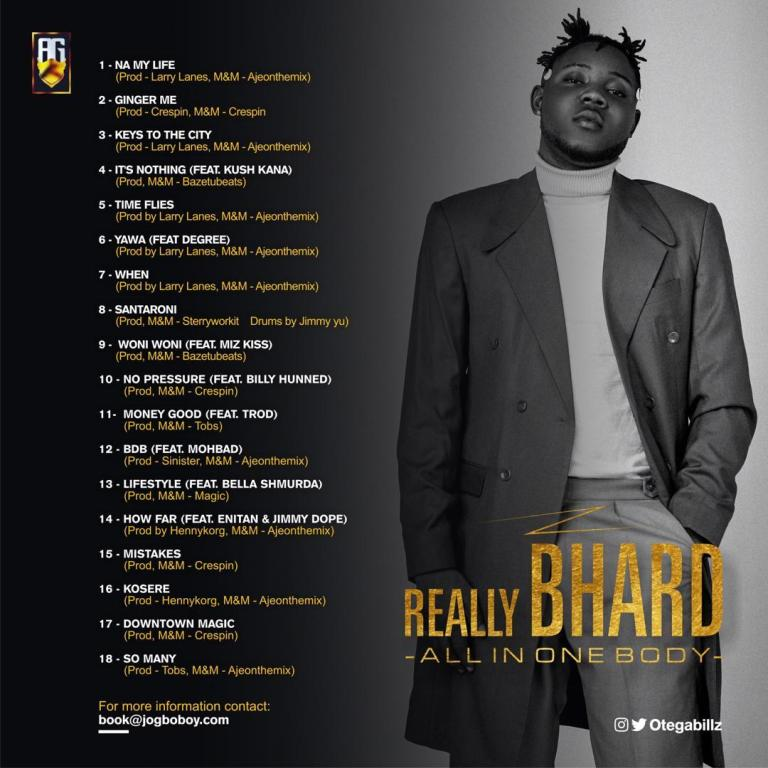Otega - Really Bhard (All In One Body) (Album)